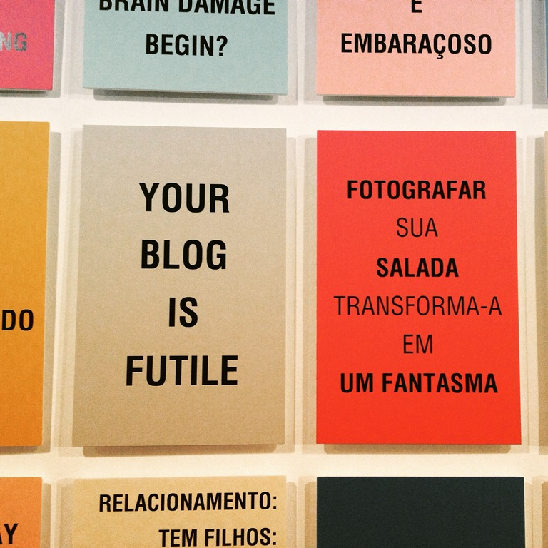 seu blog é fútile-your blog is futile