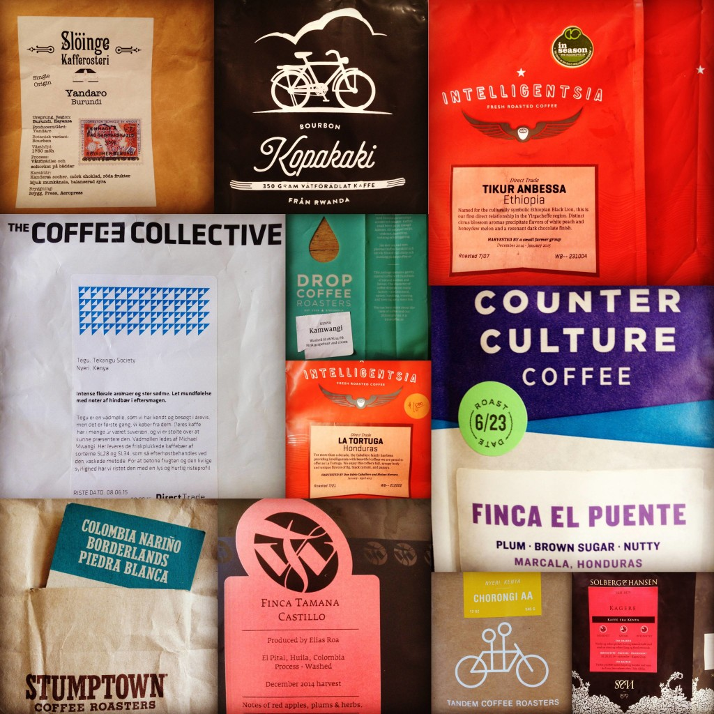 2015 My Summer in Coffee