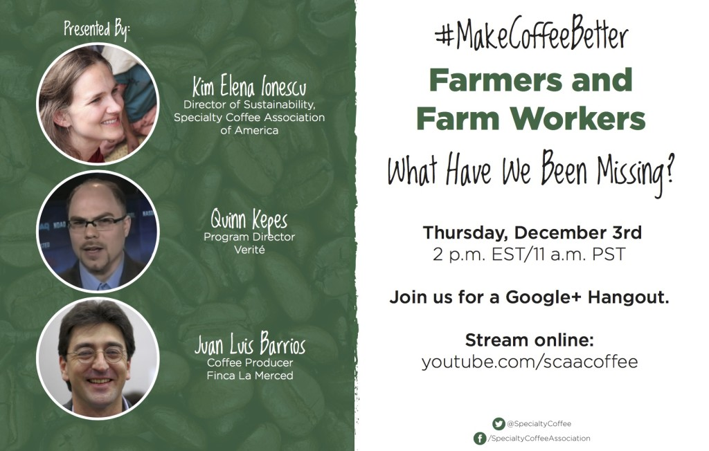 Farmers and Farmworker - Google Hangout