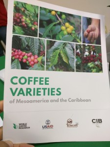 Here's one example of a type of decision support tool. The Coffee Varietal Handbook for Mesoamerica by WCR. Photo by Kraig Kraft.