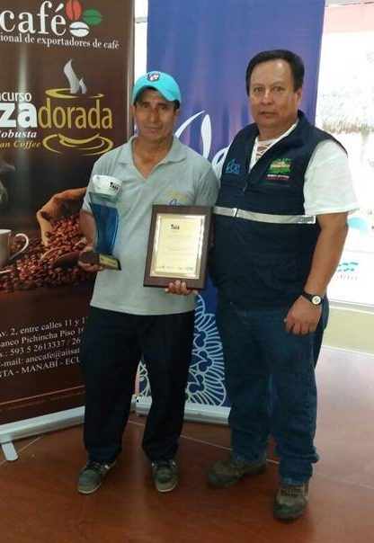 Robusta farmers rewarded for quality in the 2nd Taza Dorada